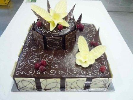 2 Tier Mud Cake