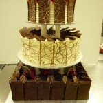 3 TIER (MUD CAKE, ITALIAN TORTE & STRAWBERRY GATEAU)