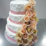 4 TIER MUD CAKE WITH ROYAL ICING