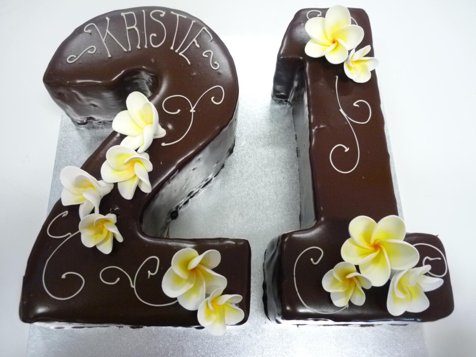 Number 21 Mud Cake Orangerie Patisserie
